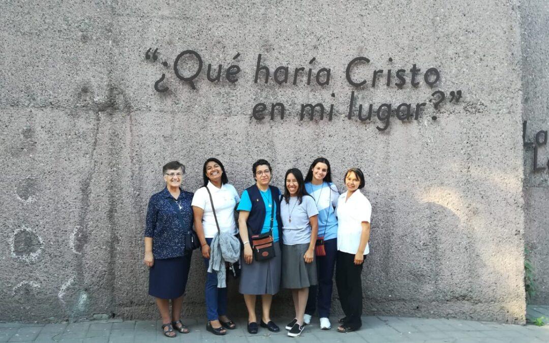 Santiago de Chile, comenzando el postulantado