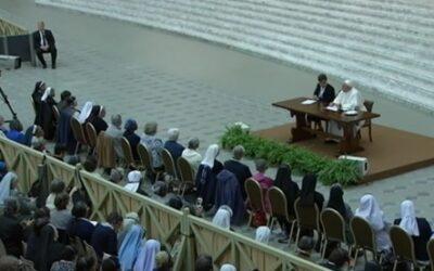 Discurso del Papa Francisco a las Superioras Generales (UISG)