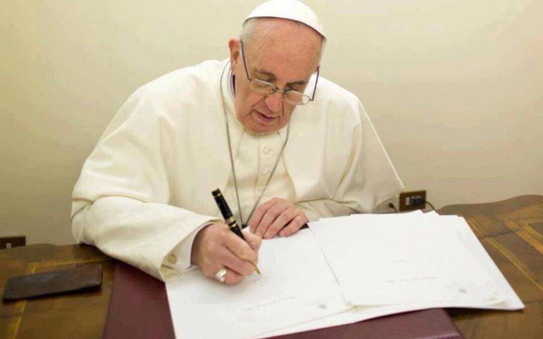 """""""Vos estis lux mundi"""", el motu proprio del Papa Francisco"""