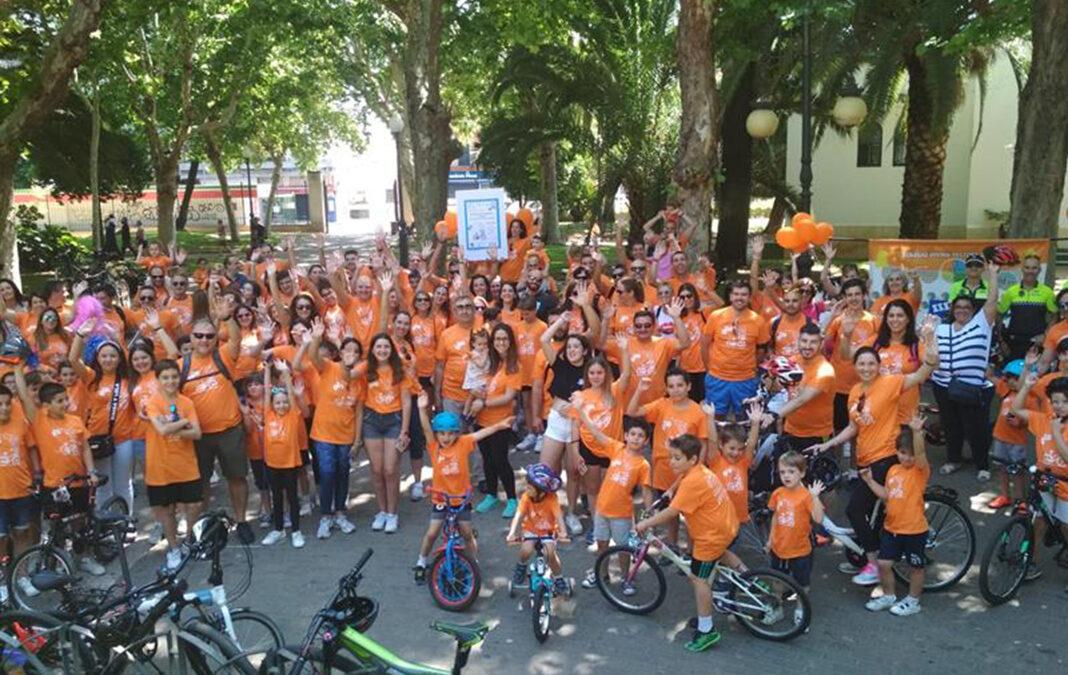 """El Colegio Divina Pastora de Córdoba """"marcha en bici"""""""