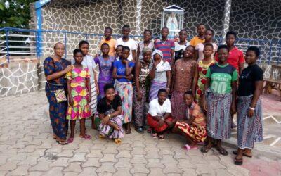Encuentro de vocacionadas en Benín