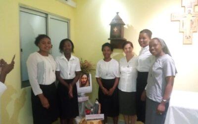 Entrada al Postulantado en Angola
