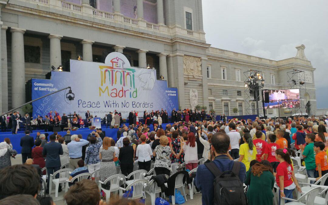 Clausura del Encuentro por la Paz de Madrid