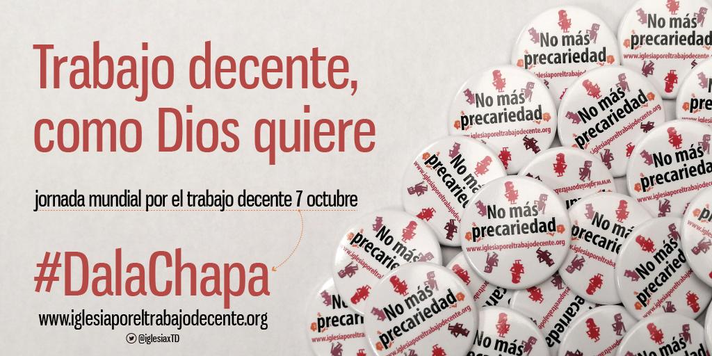«Iglesia por el Trabajo Decente» frente a la indecente precariedad