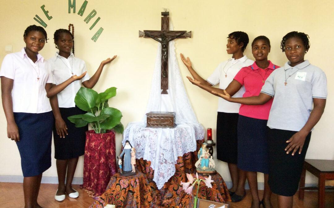 Comienzo del Postulantado en Mozambique