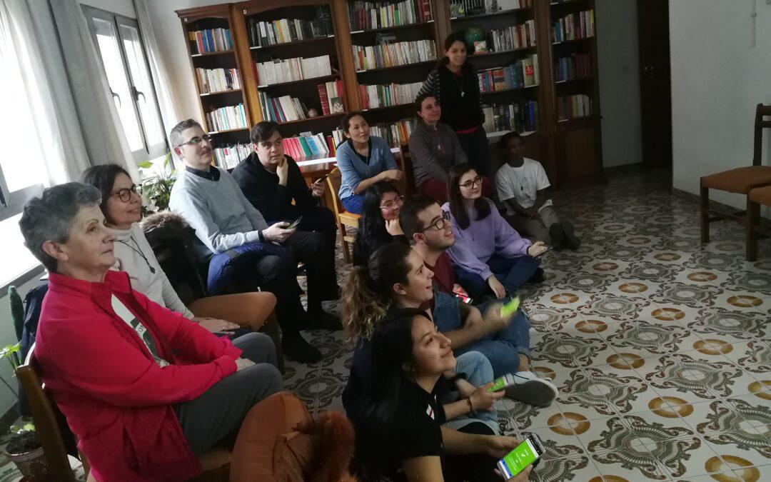En el noviciado con los jóvenes de Jufra
