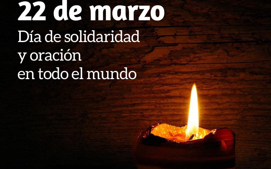 22 de marzo: Día de solidaridad y oración propuesto por la UISG