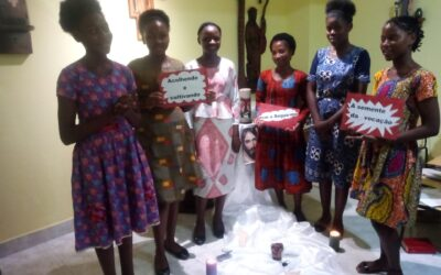 Nueve jóvenes comienzan el Aspirantado en Angola