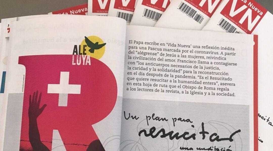 """""""Un plan para resucitar"""", la propuesta del Papa Francisco ante el coronavirus"""