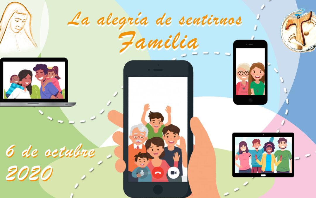 """""""La alegría de sentirnos familia"""", fiesta de nuestra Familia Carismática"""