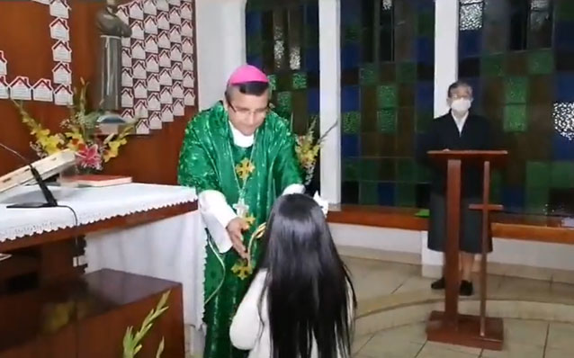 Celebración del día de la familia en Santa Isabel de Hungría