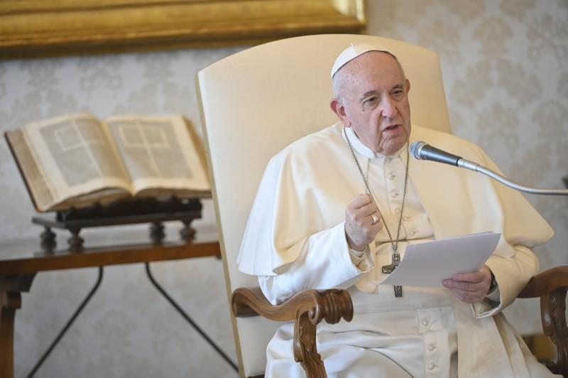 El Papa comienza una serie de catequesis sobre la pandemia de la Covid-19