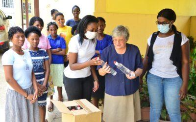 Homenaje a la hermana Maria do Ceu Costa en Luanda