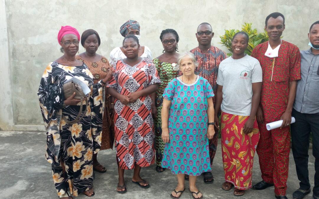 AMAM de Cotonou (Benín) prepara la Navidad