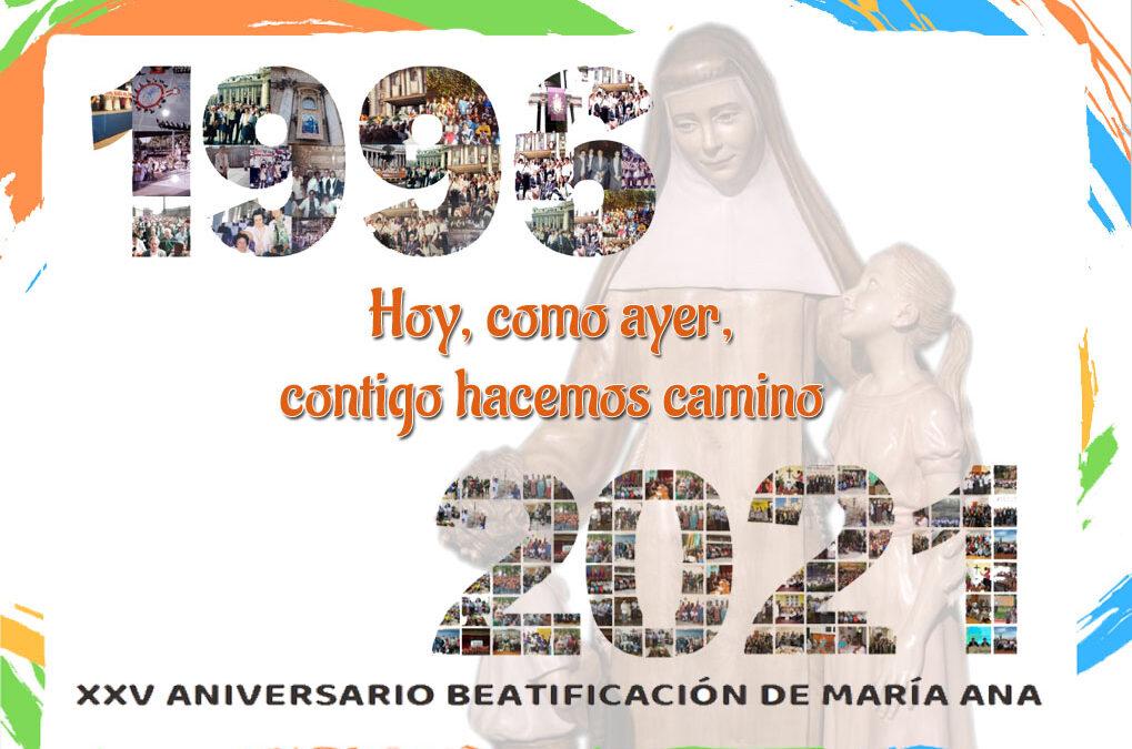 Veinticinco aniversario de la Beatificación de nuestra Madre Fundadora