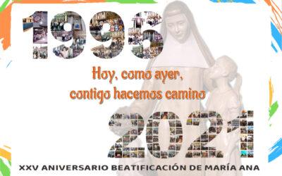 XXV aniversario de la Beatificación, mes de marzo