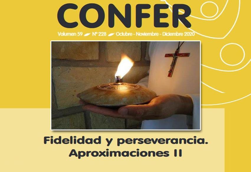 Revista CONFER: Fidelidad y perseverancia. Aproximaciones II