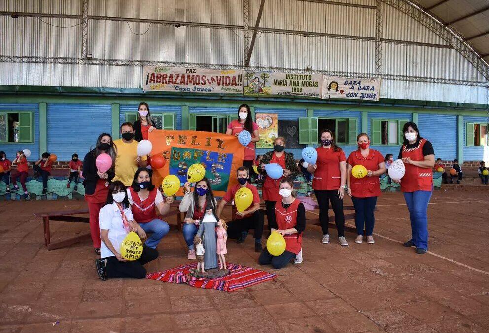 El Instituto María Ana Mogas de San Pedro, Argentina, celebra sus bodas de plata