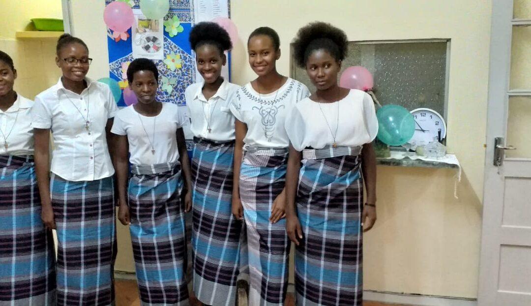 Nuevas postulantes en Mozambique