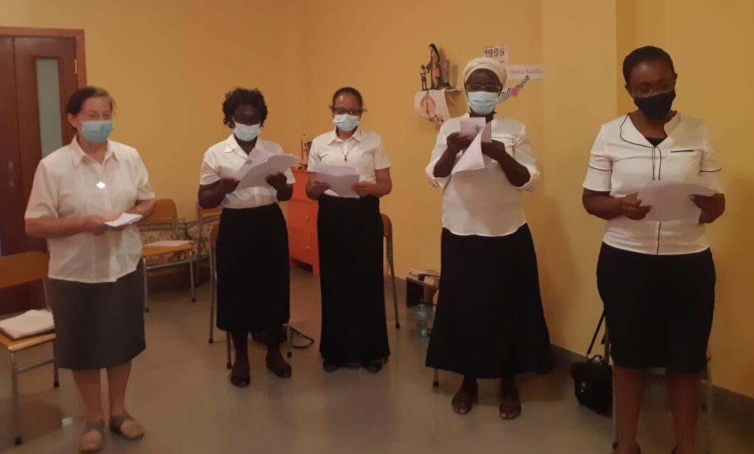 AMAM: Paso de etapa en Sumbe, Angola