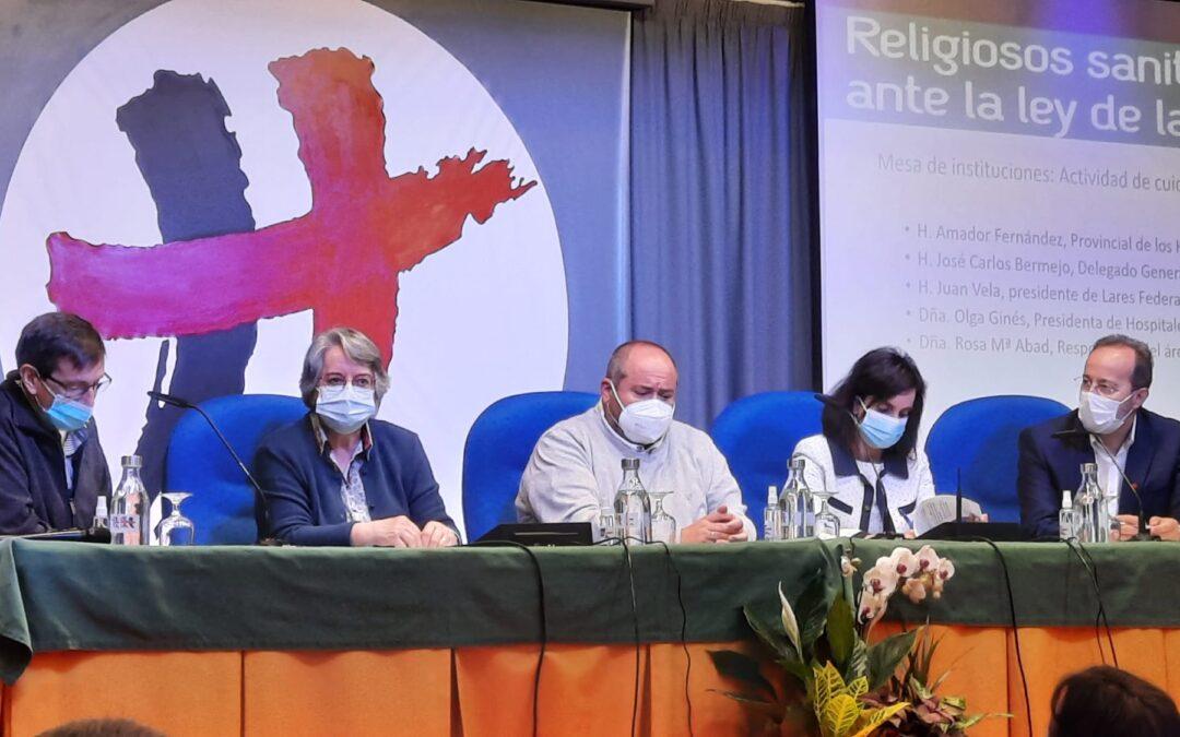 Religiosos sanitarios contra la eutanasia