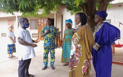 AMAM Benín: salida al finalizar la etapa de formación