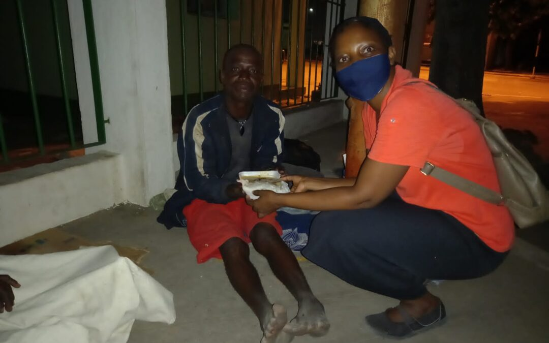 Desde Mozambique: «Tuve hambre y me diste de comer»