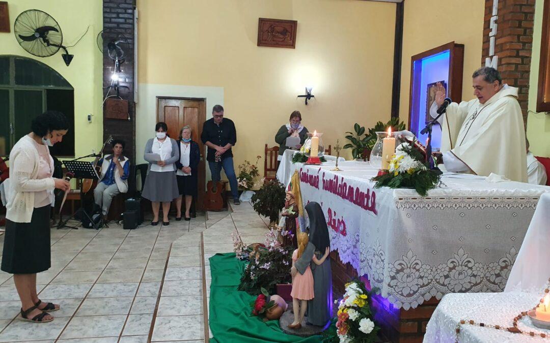 Profesión Perpetua de Dolly en San Pedro, Argentina