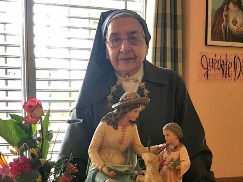La hermana Pilar Mateos, gran protagonista de la beatificación de María Ana Mogas